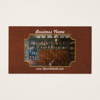 Pharmacy - Right behind the counter Business Card