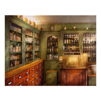 Pharmacy - Room - The dispensary 21.5 Cm X 28 Cm Flyer