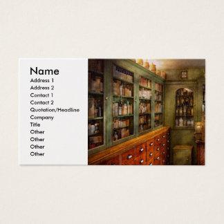 Pharmacy - Room - The dispensary Business Card