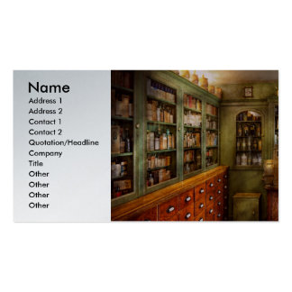 Pharmacy - Room - The dispensary Pack Of Standard Business Cards