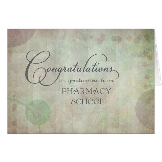 Pharmacy School Congratulations Card