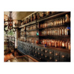 Pharmacy - So many drawers and bottles Post Cards