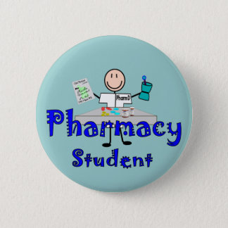 Pharmacy Student Gifts 6 Cm Round Badge