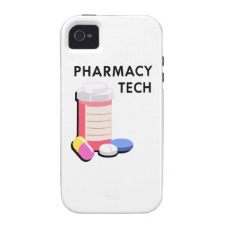 PHARMACY TECH iPhone 4 COVER