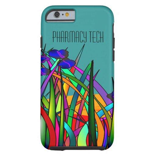 Pharmacy Tech iPhone 6 case Whimsical Flowe