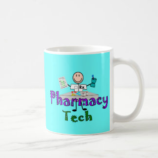 Pharmacy Tech Stick People Design Gifts Coffee Mug