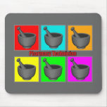 Pharmacy Technician Popart Gifts Mouse Pads
