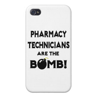Pharmacy Technicians Are The Bomb! iPhone 4 Cover