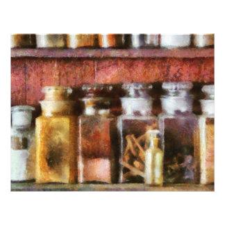 Pharmacy - The curious doctor Flyer Design