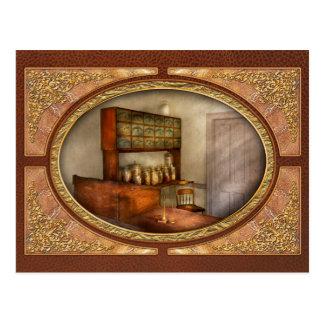 Pharmacy - The herbalist Postcard