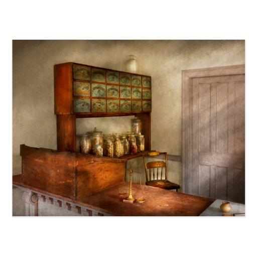 Pharmacy - The herbalist Postcards
