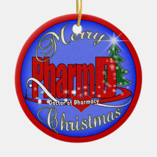 PharmD CHRITMAS ORNAMENT DOCTOR of PHARMACY