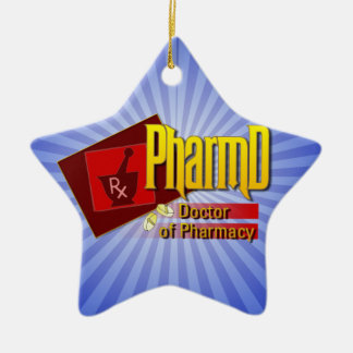 PharmD Doctor of Pharmacy LOGO Christmas Ornament