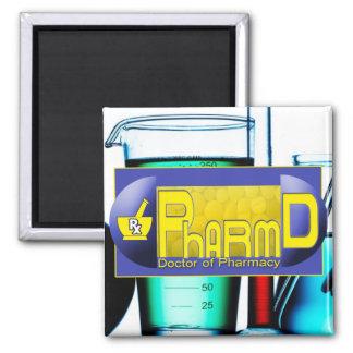 PharmD - Doctor of Pharmacy PILL Fridge Magnets