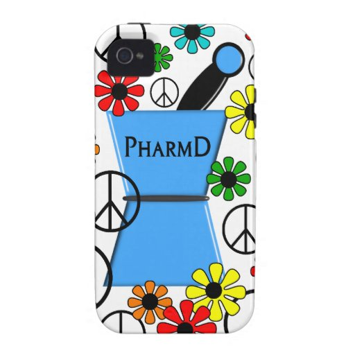 PharmD iPhone and Electronics Cases Case-Mate iPhone 4 Cover