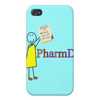 PharmD Pharmacy Student Gifts iPhone 4 Cases
