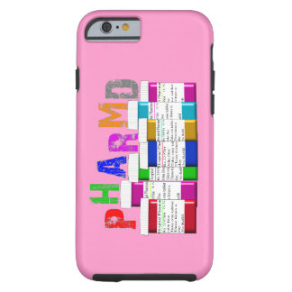 PharmD Vibe iPhone 6 case Pink Rx Containers