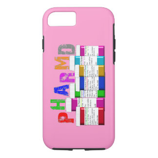 PharmD Vibe iPhone 7 case Pink Rx Containers