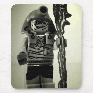 Pharoah's Mummy Warrior Minifigure Custom Minifig Mouse Pad