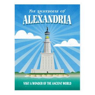 Pharos Lighthouse of Alexandria Postcard