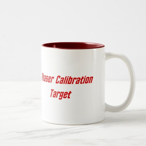 Phaser Calibration Target Mugs