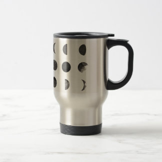 Phases of the Moon Lunar Watercolor Stainless Steel Travel Mug