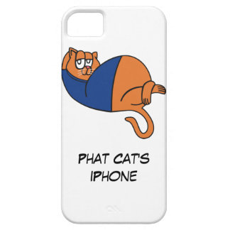 Phat Cat iPhone Case Cover For iPhone 5/5S
