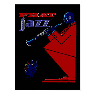 Phat Jazz Postcard