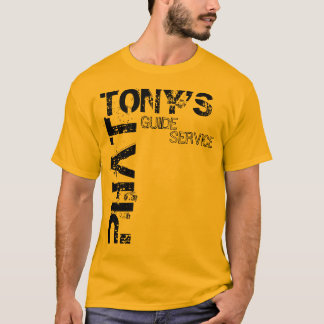 PHAT TONY'S GUIDE SERVICE T-Shirt