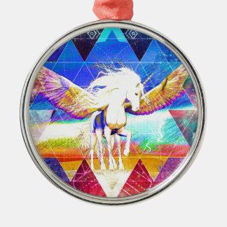 Phate-Arcynn Ahnna Jha Unicorn Christmas Ornament