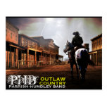 PHB Outlaw Country Post Card