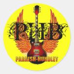 PHB Round Stickers