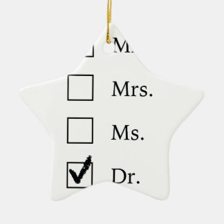 PhD gifts for women Christmas Ornament