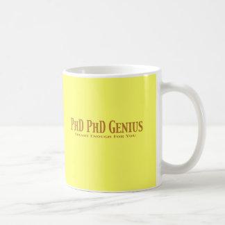 Phd Phd Genius Gifts Basic White Mug