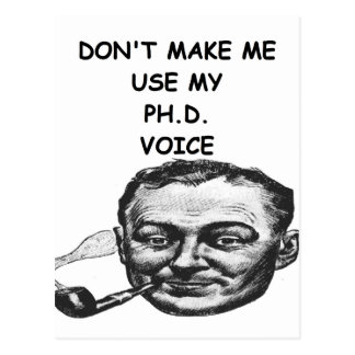 phd postcard