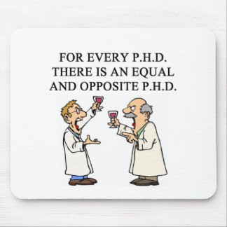 PHD proverb Mouse Mat