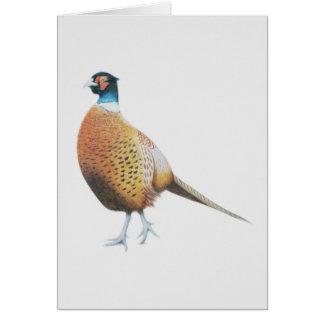Pheasant 2012 greeting card