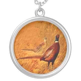 Pheasant Bird Nature Wildlife Necklace