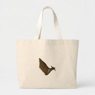 pheasant bird, tony fernandes large tote bag