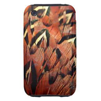 Pheasant Feathers iPhone 3 Tough Covers