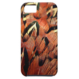 Pheasant Feathers Tough iPhone 5 Case