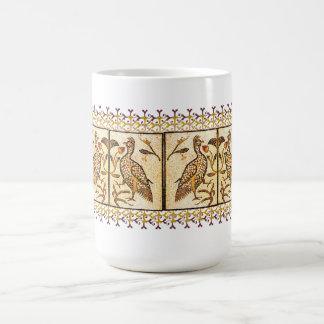 Pheasant Mosaic Basic White Mug
