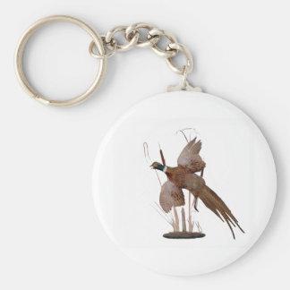 Pheasant Mount Key Ring