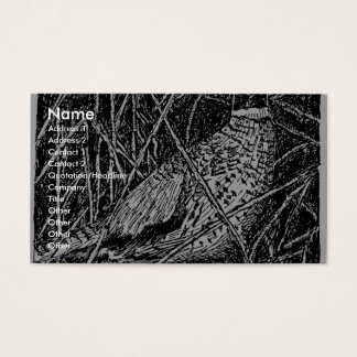 Pheasant (Rooster) Business Card