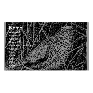 Pheasant (Rooster) Pack Of Standard Business Cards