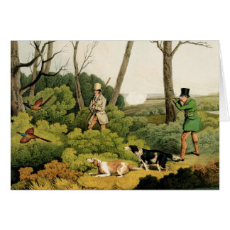 'Pheasant Shooting', pub. by Thomas McLean, 1820 ( Card