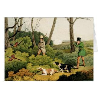 'Pheasant Shooting', pub. by Thomas McLean, 1820 ( Greeting Card