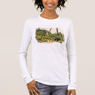 'Pheasant Shooting', pub. by Thomas McLean, 1820 ( Long Sleeve T-Shirt