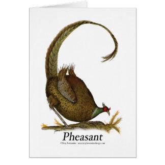 pheasant, tony fernandes card
