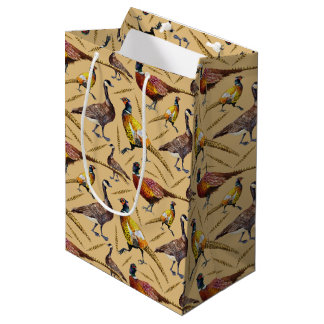 Pheasants And Geese Gift Bag